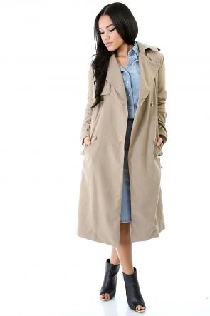 Special Suede Coat