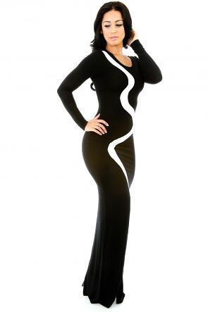 Wonder Lining Maxi Dress