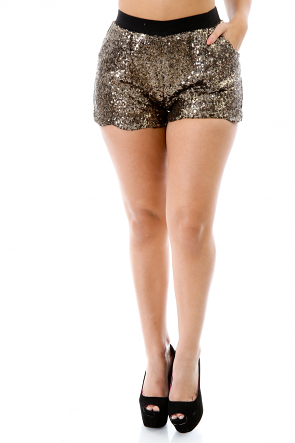 Full out Sequin Shorts