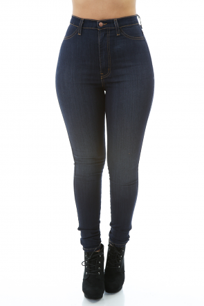Plain Denim Jeans