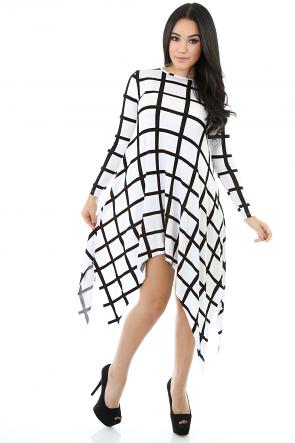 Stripe Box Going Maniac Dress