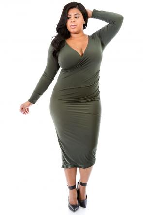 Stunning Crossover Dress