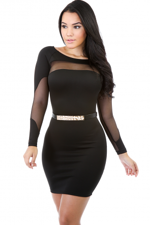 Hot Meshy Dress