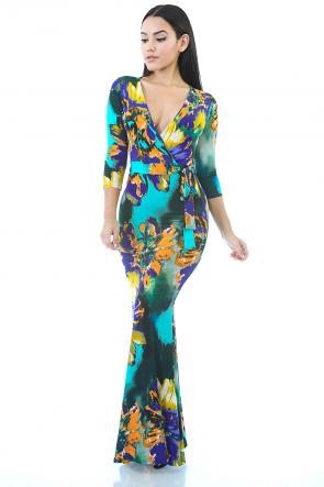 Floral Bowl Dress