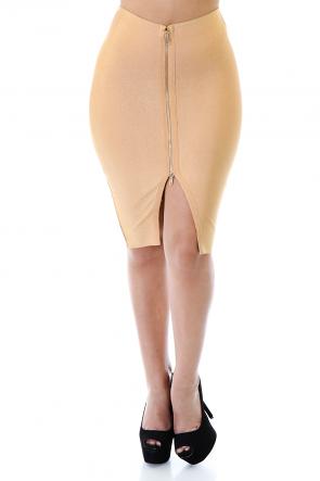 Elastic Hip Curve Skirt