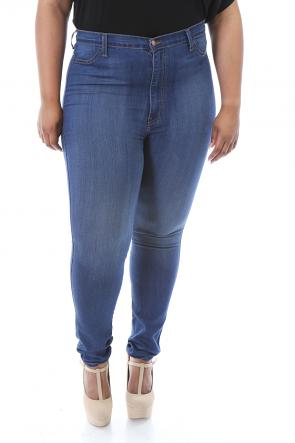 Simple Denim Exposure Jeans