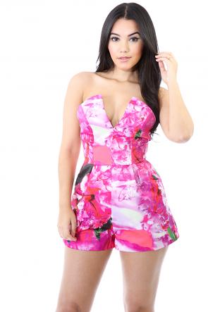 Pink Blush Romper