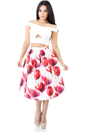 Tender Rose Skirt