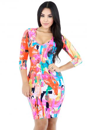 Artistic Post Dress