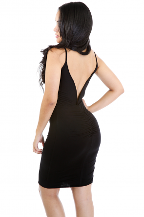 Pain Back Twist Dress