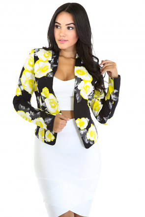 Lime Rose Blazer