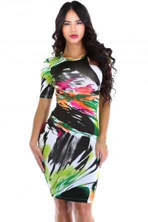 Brush Wand Dress