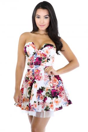 Growing Rose Dress