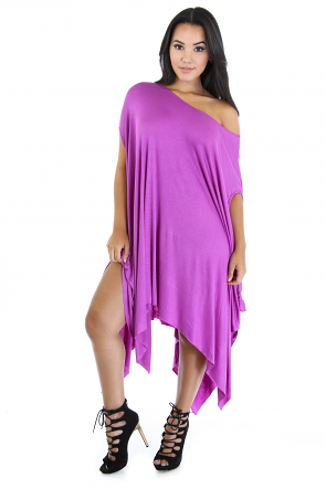 Drape Promo Tunic Dress