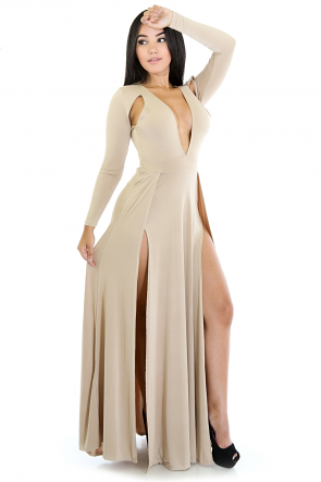 Beauty Lox Maxi Dress