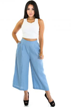 Wide Jenner Pants