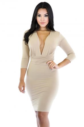 Simple Impressments Dress