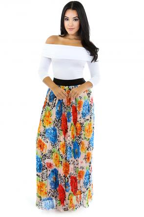 Hulu Flare Maxi Skirt