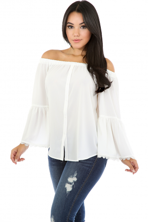 Lots Of Flare Top