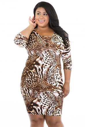 Jungle Mixture Dress
