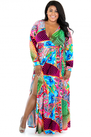 Wild Colors Dress