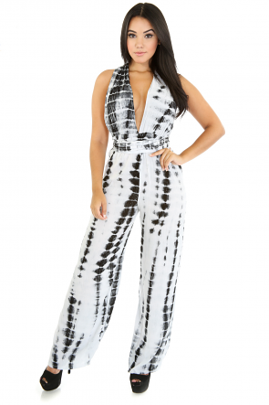 The Tie Dye Expanded Jumpsuit