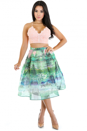Across the World Beauty Skirt