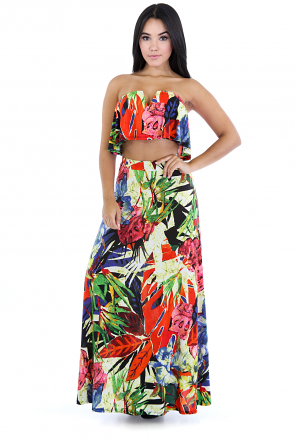 Botanic Heaven Maxi Set