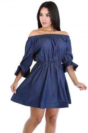 Jean Fiesta Dress