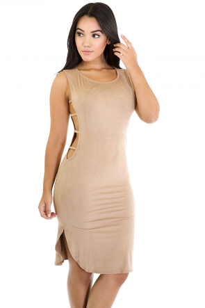 Suede Me In Dress