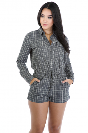 Boxed out Romper