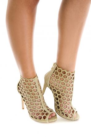 Gold Bee Heels