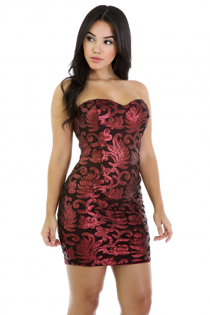 Keep On Party Sequin Dress