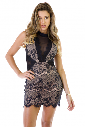 Too Close To Perfection Lace Dress
