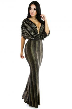 Magnificent Glitter Maxi Dress