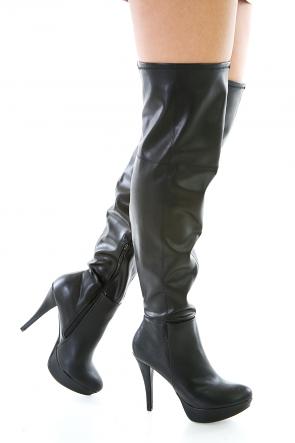 Double Feature Platform Boots