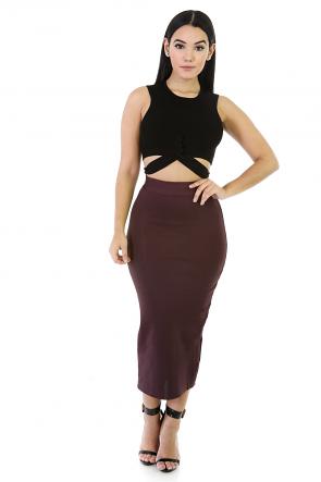 Extensive Outstretch Long Skirt