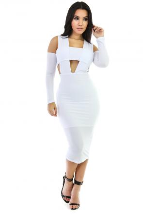 Hot Midi Dress