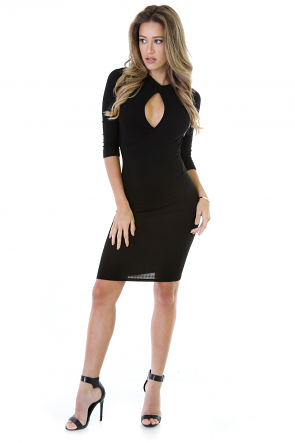Full Body Front View Dress