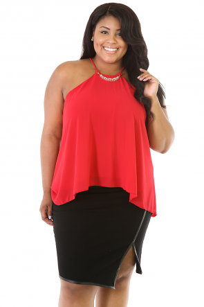 Lady Like Chiffon Top