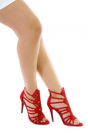 Stone Cold Strap Heels