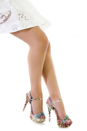 Wild Things Are Shiny Platform Heels