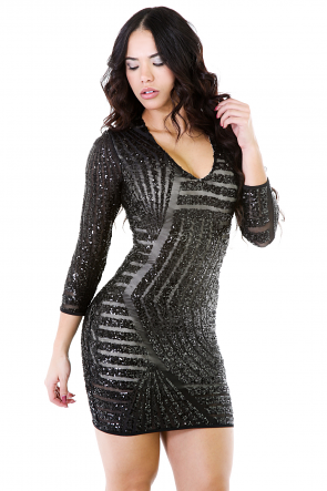 Reflecting Shimmer Dress