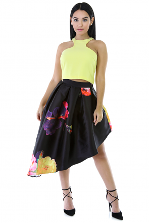 Blossom In The Darkness Skirt