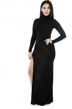 Side Split Slit Maxi Dress