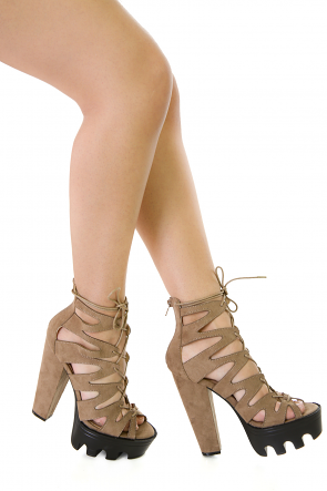 All Rise Beauty Chunky Heels