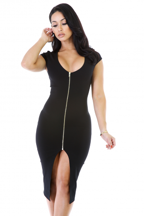 Zip Pose Dress