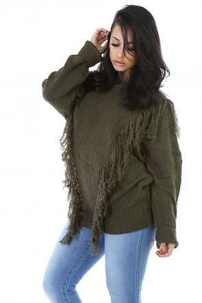 Fuzzy Fringes Top