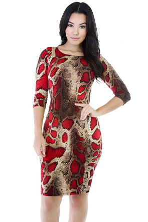 Fabulous in Skins Dress