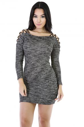 Intertwine Shoulder Dress
